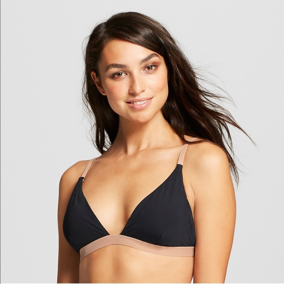 Sunn Lab Swim Other - Sunn Lab Swim Colorblock Triangle Bikini Top D
